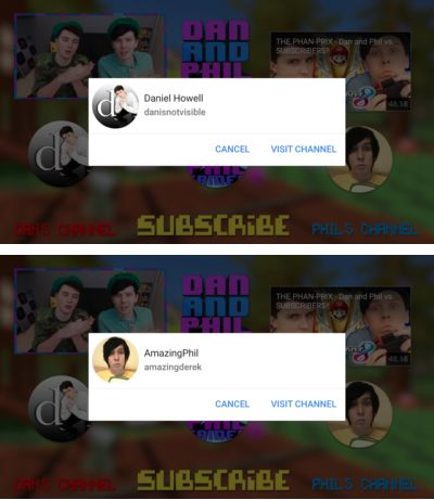 End Screen Bubbles for THE TWILIGHT ZONE - Dan and Phil Play: Golf With Friends 3