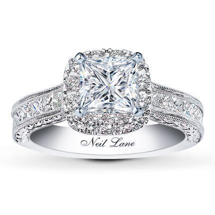 Neil Lane with princess cut diamonds at Jareds. HOLY GOODNESS!!!!!! @Amanda Snelson Lunetta