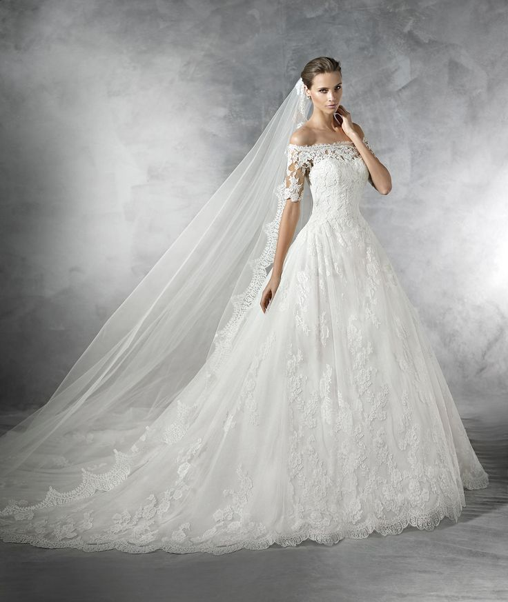 PLEASANT - Brautkleid aus Tüll im Prinzessin-Stil   Pronovias