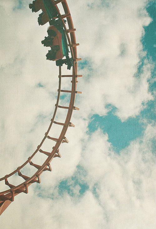 Summer fun on roller coasters