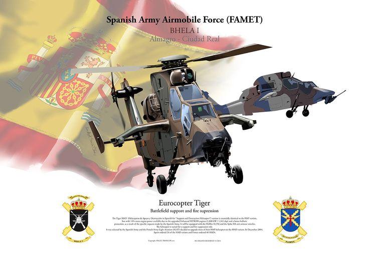 Eurocopter Tiger - España