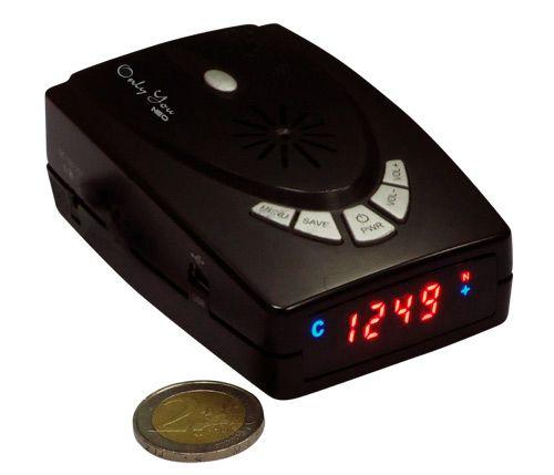Detector de radares Onlyyou Neo. Avisa de radares en K y Ka. Escaneo de banda Ka ancha.