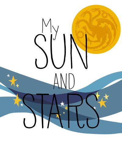 My Sun and Stars by Lapinette