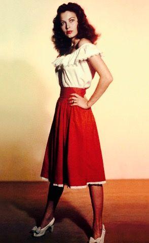 Ava Gardner - publicity still for 'Whistle Stop' (1946)