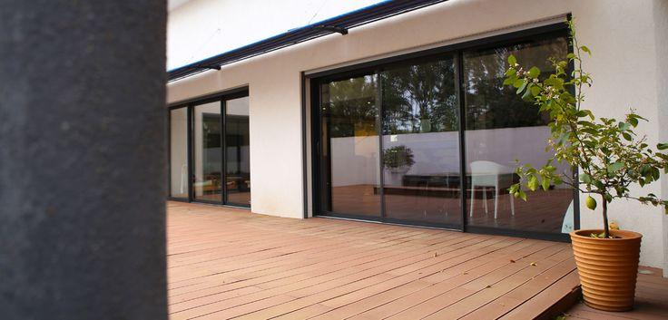 17 best Portes intérieures images on Pinterest Bay windows, Indoor - peinture porte et fenetre