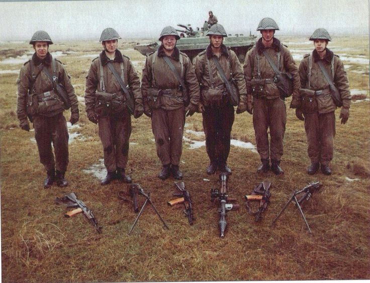 Nationale Volksarmee, the east german army during the Cold War