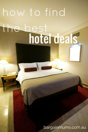 How to find the best hotel deals #hotel #travel #deals #bargains