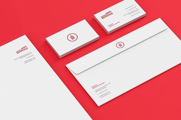 Antiestático Rebranding on Branding Served