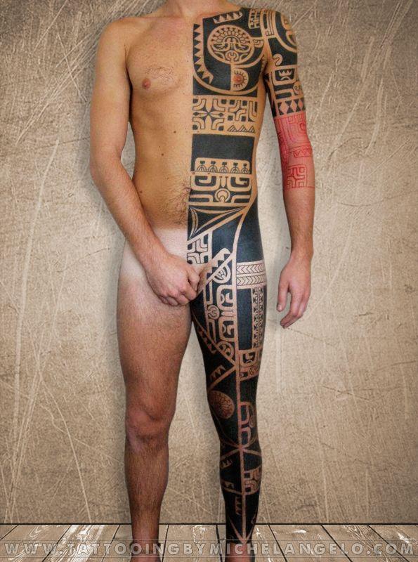 Marchesano a metà II   stile marchesano blackwork    Tattoo by Michelangelo   Tribal tattoos   Tatuaggi tribali