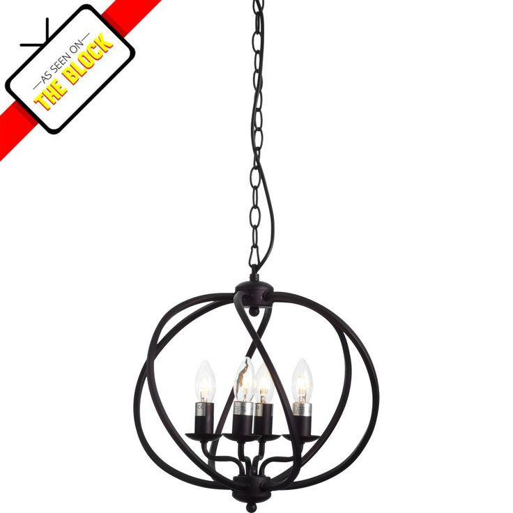 A truly unique chandelier, the Orb light is certain to become a conversation starter in any setting it is installed in.