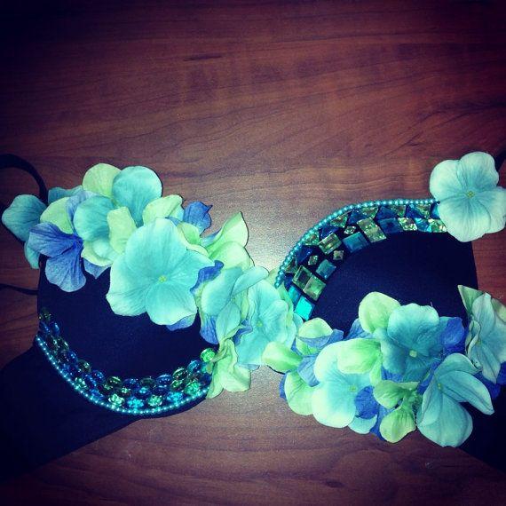 Plurfinity Floral Rave Bra