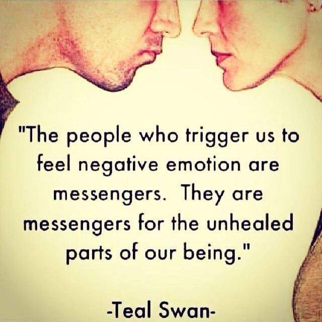 Whenever I take the time to understand why certain people trigger my negative emotions, it always stems back to my childhood.