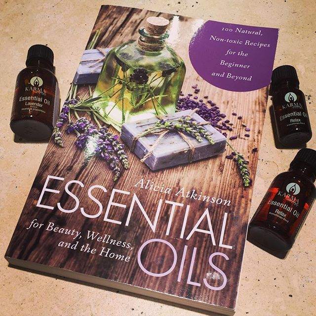 New Arrival!  Essential Oils for Beauty, Wellness and the Home by Alicia Atkinson This book is a simple yet comprehensive guide to essential oils including recipes and blends for natural health care, parenthood and children, dogs and cats, natural beauty and spa and all-purpose cleaning.