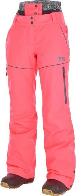 PICTURE ORGANIC CLOTHING Women's Exa Insulated Snow Pants Neon Coral