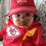 Baby Dressed as Kansas City Chiefs Head Coach Andy Reid Is the Best Halloween Costume Ever