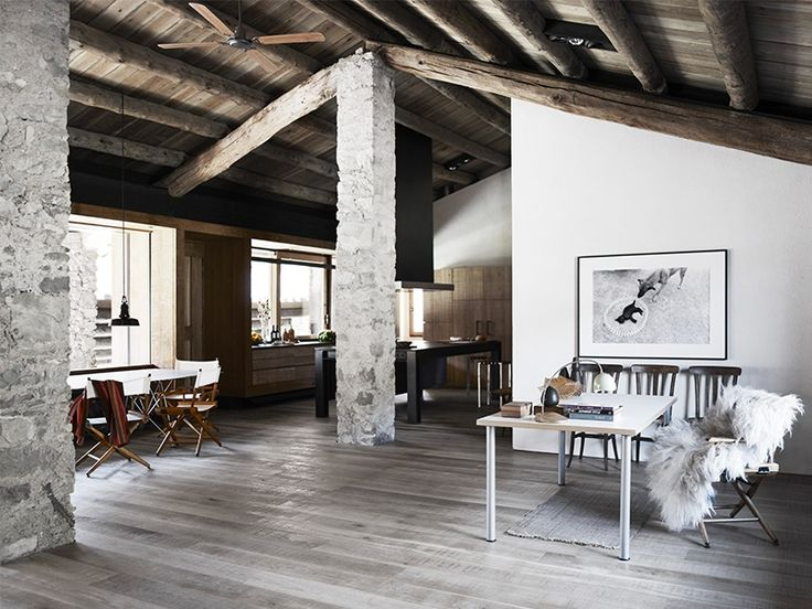 A Beautifully Renovated Modern Rustic Stone House In The Spanish Pyrenees  Retaining Plenty Of Character Despite The Modernisation. Idea
