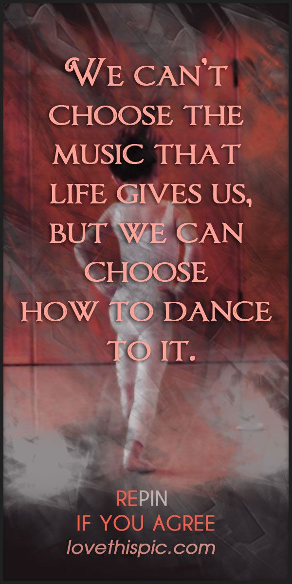 Life's music quotes cute quote dreams truth inspirational ...