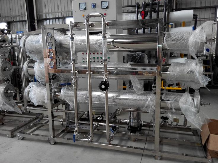 Stainless steel water tank/water filter machine/reverse osmosis water system