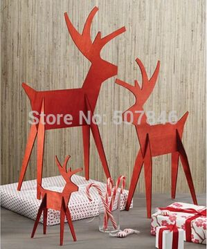 Cheap display hook, Buy Quality display tool directly from China display cinema Suppliers: Christmas Ornament Wooden Deer, Christmas Decorative Elk, Wooden Animal2 SizesS 5.5''W×2.5
