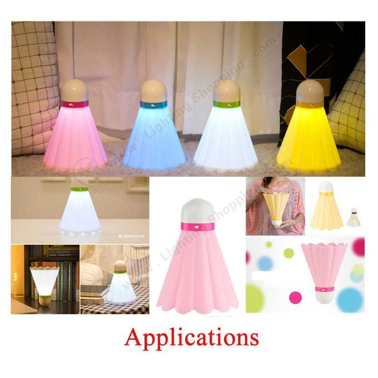 Best LED Gadgets, USB Night Lights, Badminton Shape, Cute Novelty, Rechargeable - See more at: http://www.lightingshopping.com/led-gadgets-usb-night-lights-badminton-shape-cute-novelty.html