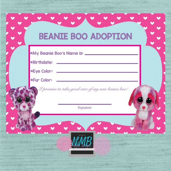 17 Best Ideas About Beanie Boo Party On Pinterest Loot