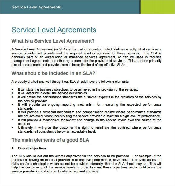 Managed Services Agreement