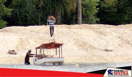 Terkait Eksploitasi Pasir Laut oleh PT WDR, Sekda Wakatobi: Kami Akan Turunkan Tim