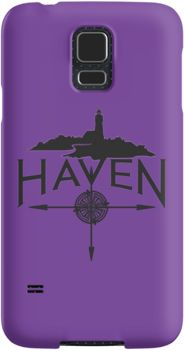 Haven Syfy Inspired Phone Cases/Skins |  Custom Purple Haven Black Logo | Snap Cases,Tough Cases, & Skins for Galaxy S3-S4-S5-S6-S6 Edge-S6 Edge Plus-S7-S7Edge | iPhone 4s/4 5c/5s/5 6/6Plus SE/5s/5 & iPhone Wallets **All designs available for all models.