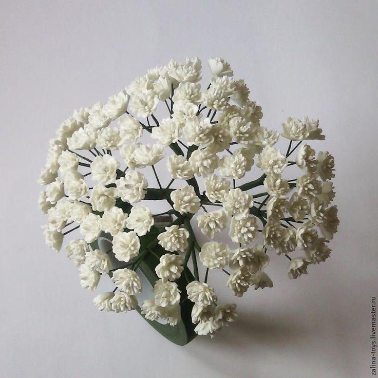 Изготовление гипсофилы из фоамирана - Ярмарка Мастеров - ручная работа, handmade