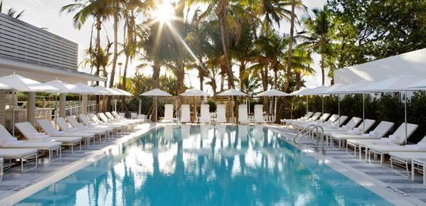 Miami pool club