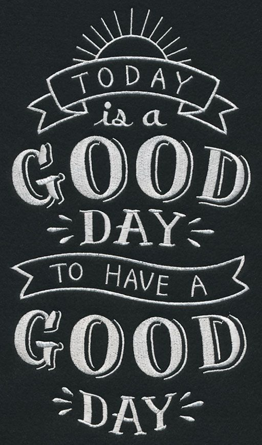 Have a good day......
