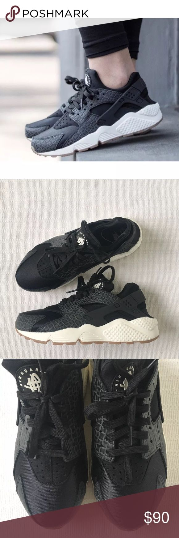 Women's Nike Huarache Run Premium Running Shoes Women's Nike Huarache Run Premium Running Shoes is the perfect sneaker for your everyday activities. Style/Color: 683818-011  • Women's size 9  • NEW in box (no lid) • No trades •100% authentic Nike Shoes Sneakers