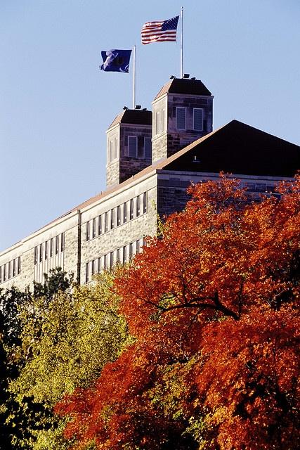 KU Fraser Hall. Flickr: University of Kansas.