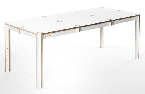Minimal waste table by fraaiheid for Table 0 5 ans portneuf