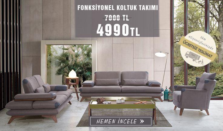 Vintage Modern Koltuk Takımı Tarz Mobilya'da !  Tarz Mobilya   Evinizin Yeni Tarzı '' O '' 0216 443 0 445  whatsapp : +090 532 722 47 57