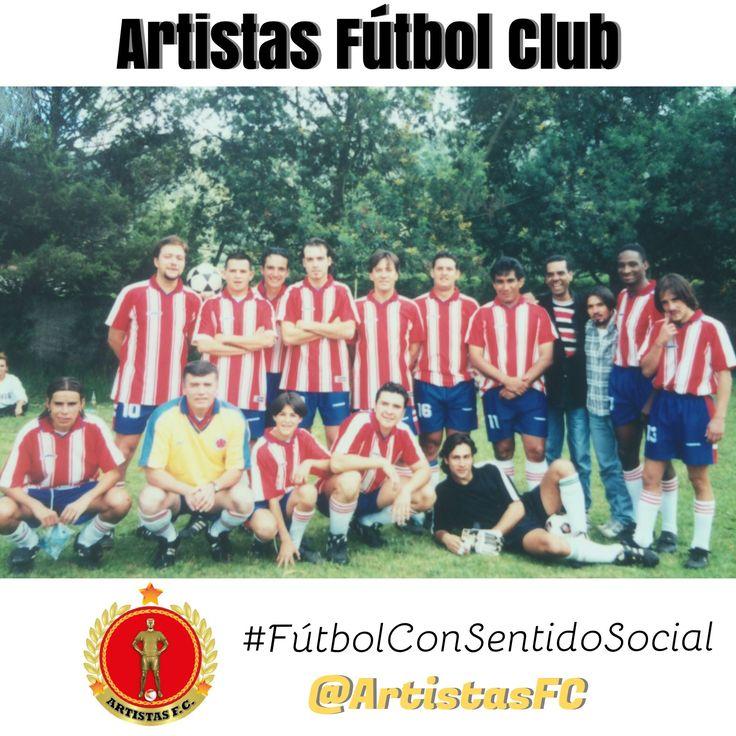 Artistas Fútbol Club #Femenino #FútbolConSentidoSocial Recuerdos 2009