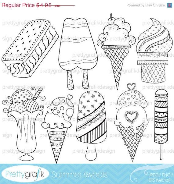 81 best images about food coloring on pinterest coloring ice cream coloring pages and