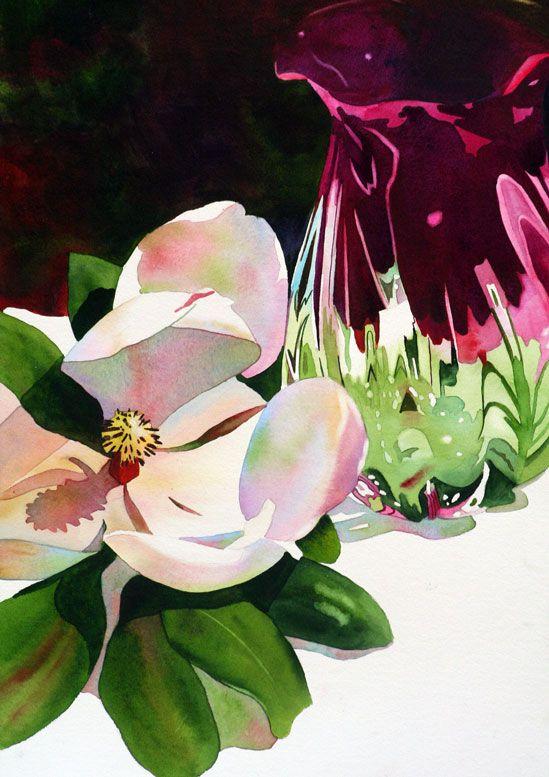 — Anne Abgott   Award-Winning Watercolor Artist