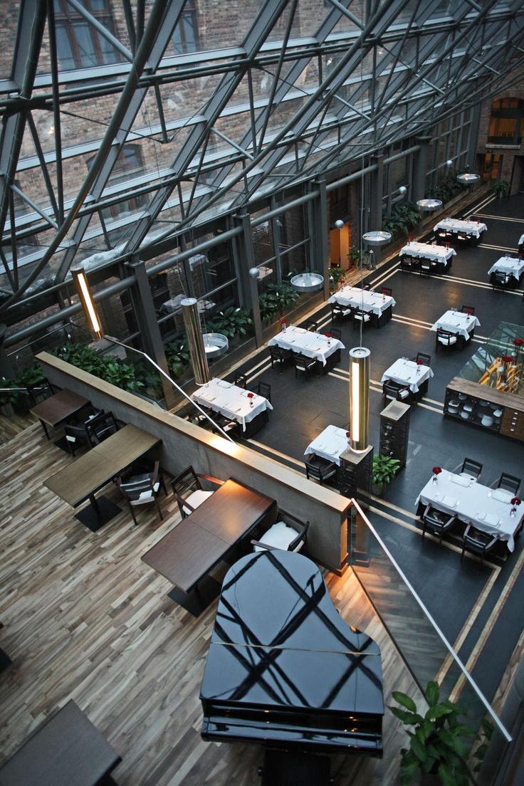 Zapraszamy do restauracji Cristallo w hotelu Monopol Katowice.