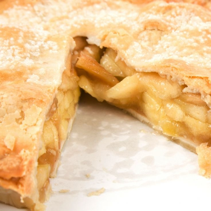 This deep dish apple pie recipe gives everyone a good thick slice!. Deep Dish Apple Pie Recipe from Grandmothers Kitchen.