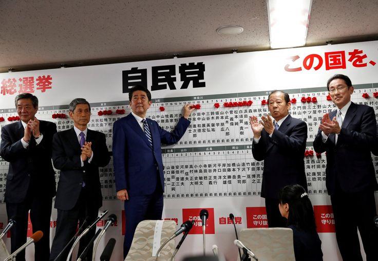 #Abenomics #education #japan #Japanelections #NorthKorea #salestax