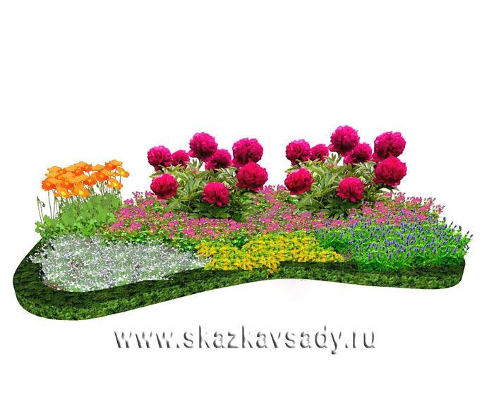Пейзажные клумбы.Ландшафтная студия Сказка в саду. Ландшафтный дизайн в Ставрополе