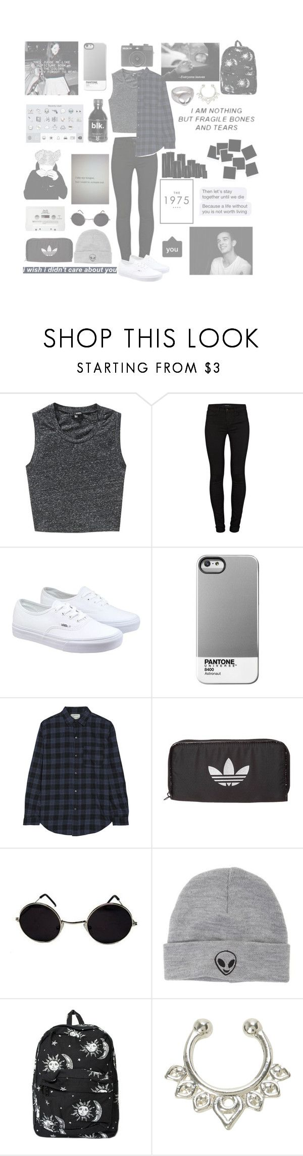"""'I hate you, I love you, I hate that I love you'"" by holographic-hemmings ❤ liked on Polyvore featuring Wilfred Free, J Brand, Vans, Current/Elliott, Holga, CASSETTE, adidas Originals, With Love From CA, Motel and women's clothing"