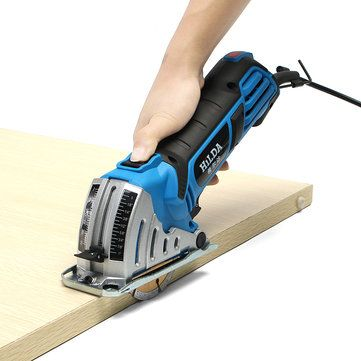Only US$99.90, buy best HILDA JD3522C 500W Electric Mini Circular Saw Power Saw Hand Circular Saw for Wood Power Tool sale online store at wholesale price.US/EU warehouse.