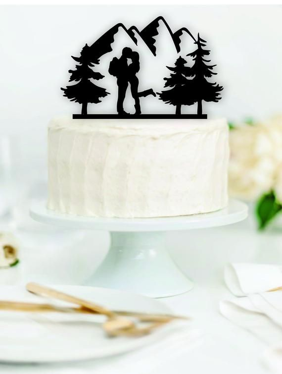 18+ Hiking themed wedding cake toppers ideas in 2021