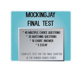 mockingjay essay