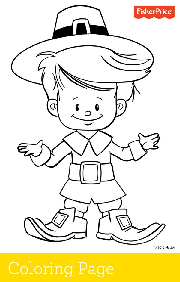 Fisher Loving Family Coloring Pages