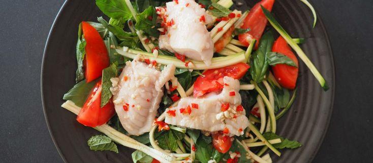 Pan Fried John Dory with Asian Dressing | Yumm! Healthy.Real.Raw.Paleo ...