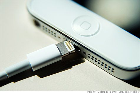 Don't expect cheap knockoffs of Apple iPhone's new Lightning charger - Oct. 2, 2012