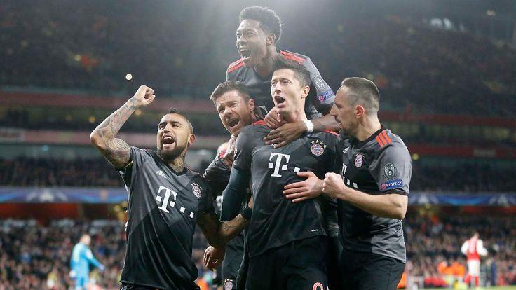 Wie Preisboxen auf der Kirmes: FC Bayern treibt mit Arsenal seine Späßchen